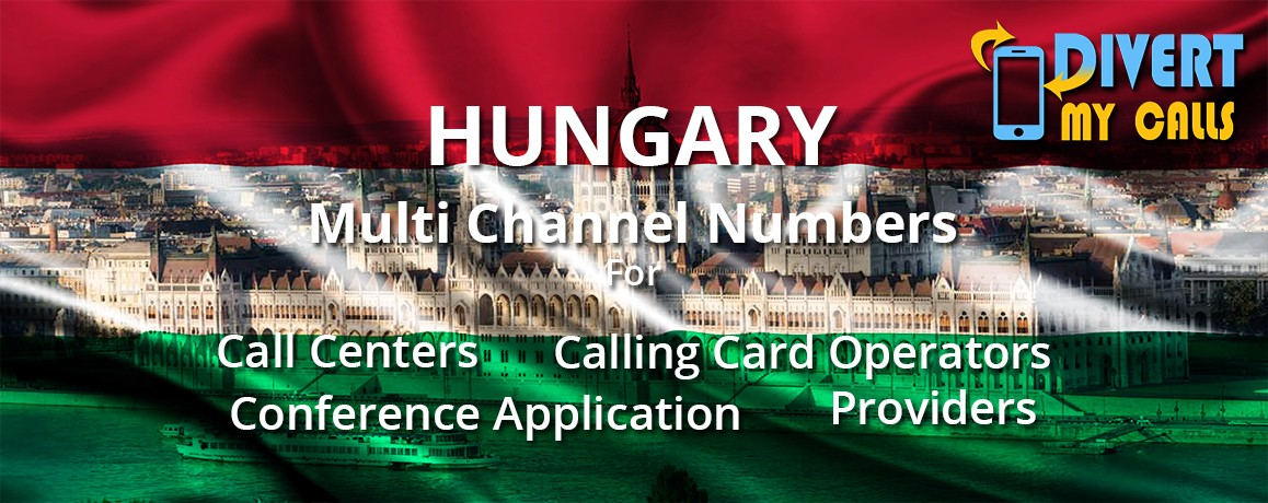Hungary Virtual Phone Numbers |unlimited channels |No Local Address Proof