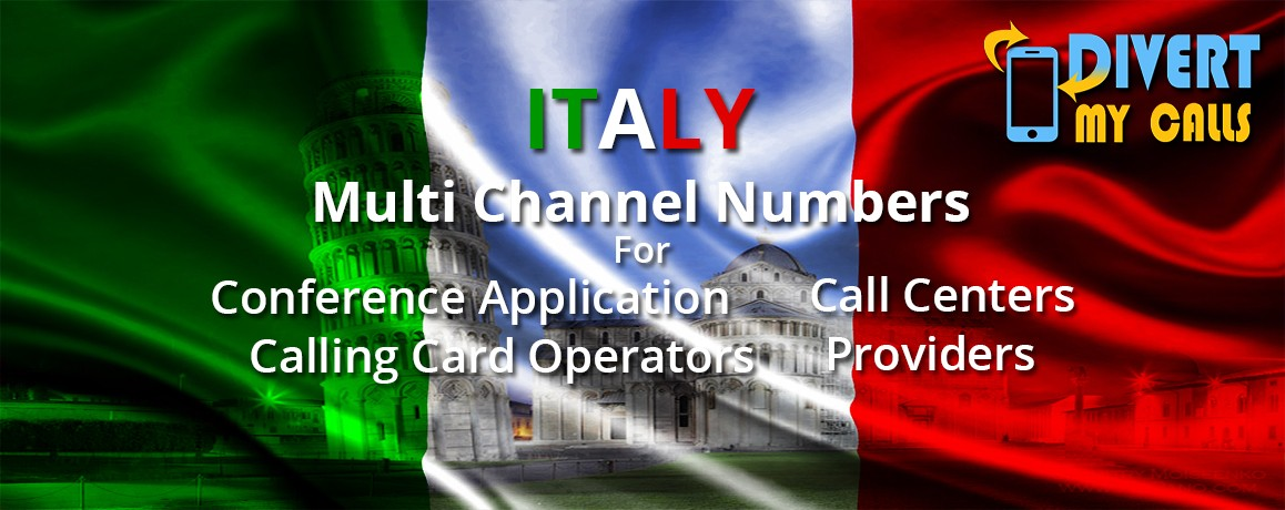 Italy Virtual Number | unlimited channels | No Local Address proof