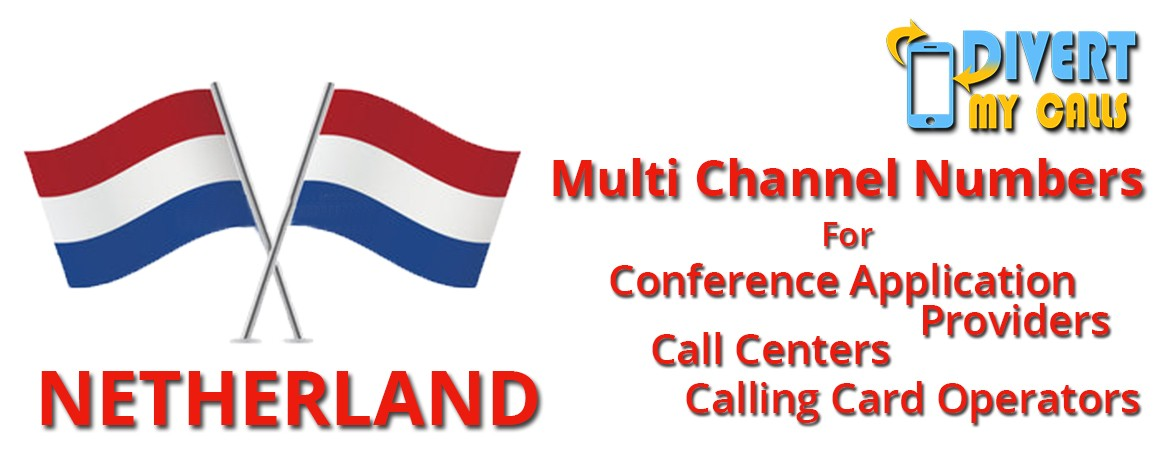 Netherlands Virtual Phone Numbers with unlimited channels|No Local Address Proof