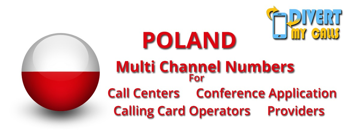 Poland Virtual Phone Numbers with unlimited channels | Poland Virtual PRI
