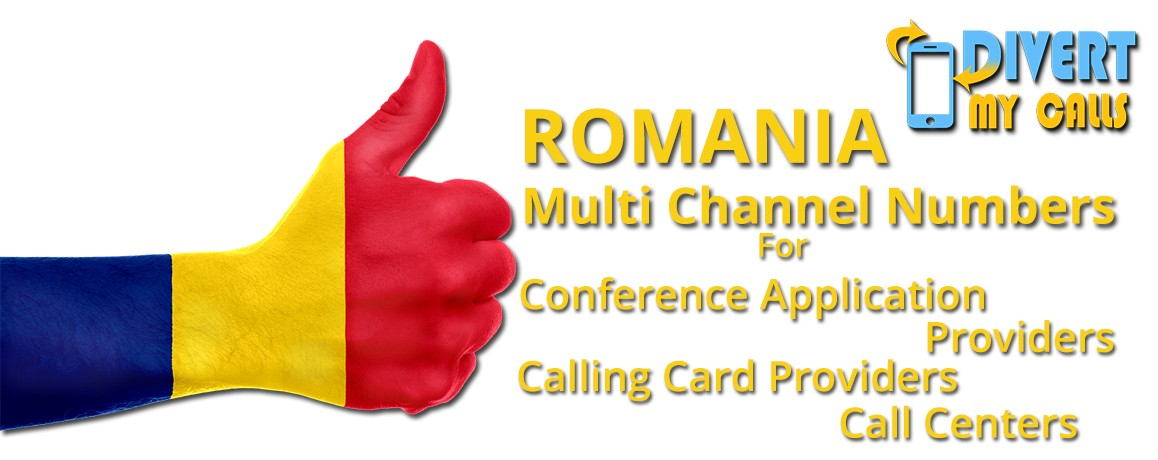 Romania Virtual Numbers with unlimited channels for Calling Cards &  Call Centers