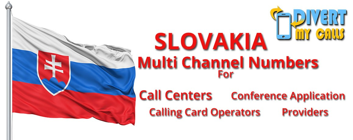 Slovakia Virtual Numbers with unlimited channels for Calling Cards &  Call Centers