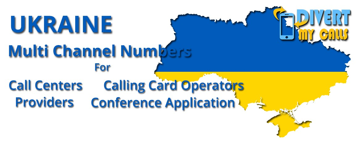 Ukraine Virtual Phone Numbers with unlimited channels for Calling Cards &  Call Centers