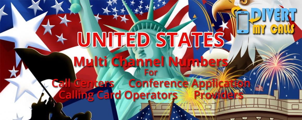 USA Virtual Numbers with unlimited channels for Calling Cards &  Call Centers