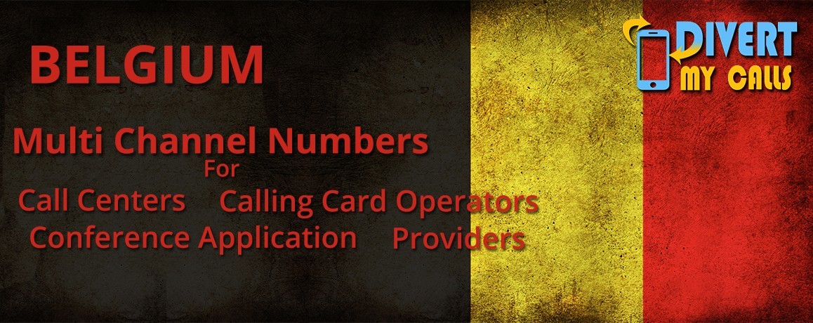 Belgium Virtual Phone Numbers |unlimited channels |No Local Address Proof