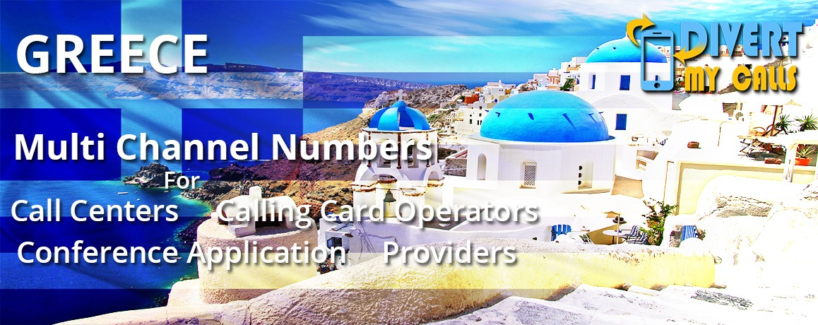 Greece Phone  Numbers with  unlimited channels| No Local Address Proof